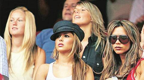 From the original WAGs, Cheryl Cole (second from left), Victoria Beckham (second from right) have 'retired'. Coleen Rooney (behind Cheryl) will be at the World Cup this time too, while Alex Gerrard (below) will not be accompanying her husband to South America.