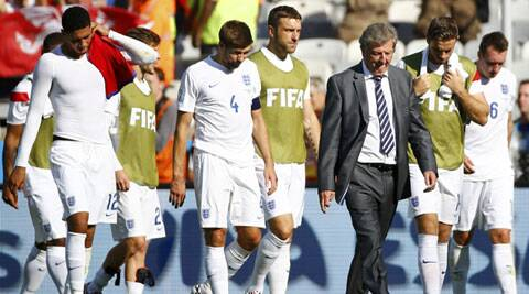 England, in their worst World Cup showing since 1958, finished on one point. (Source: Reuters)