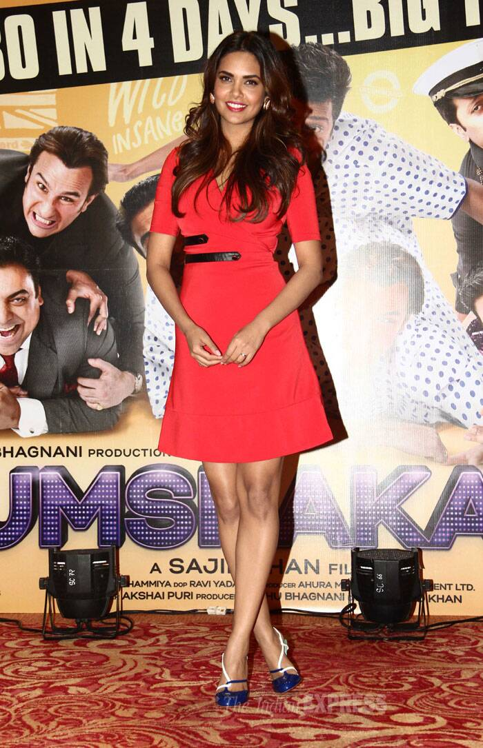 Humshakals have the last laugh: Riteish, Esha celebrate their success
