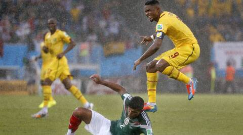 The Cameroon striker failed to shake off a niggling knee injury, which the doctors confirmed after medical check-up. (Source: AP)