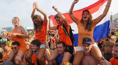 FIFA World Cup: Oranje wave grips Brazil