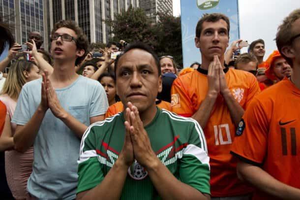 FIFA World Cup: Oranje wave grips Brazil