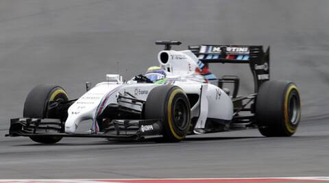 Felipe Massa steers his car during the Austrian Grand Prix practice. (Source: Reuters)