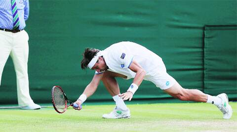 David Ferrer lost 6-7 (5), 6-0, 3-6, 6-3, 6-2 to 118th-ranked Andrey Kuznetsov of Russia (Source: Reuters)