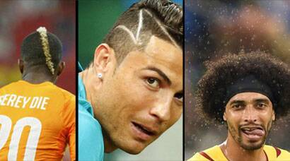 Hair-styles at FIFA World Cup: The good, bad and ugly