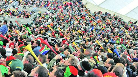The vuvuzela was a key feature in South Africa