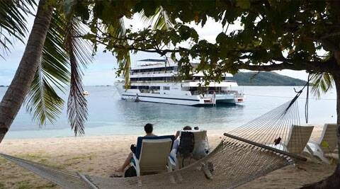 Being located close to Australia, just 3000km northeast of Sydney, it's becoming popular among Indians to add Fiji to the itinerary to enjoy a few days at a slower pace in company of sun, sea and sand; Indian heritage of the destination coming in as a bonus Source: Sandip Hor