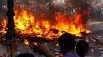 5 killed, 20 injured in blaze following gasleakage