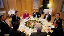 Obama meeting with European allies onUkraine