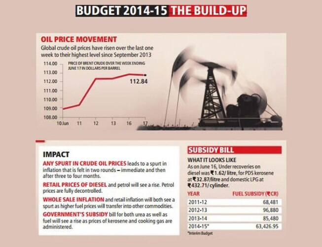 Indian Government Budget 2014-15 Budget 2014-15 The Build-up