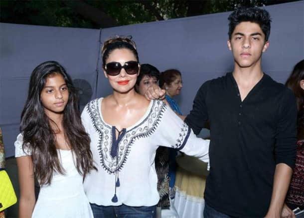 SRK's teenage children Aryan, Suhana's weekend in Delhi