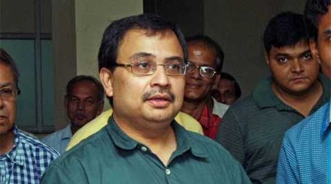 Saradha scam accused TMC MP Kunal Ghosh. (Source: PTI/file)