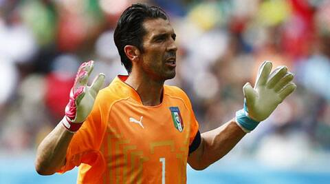 Italy's Gianluigi Buffon is only the third player in history to be part of five World Cup squads. (Source: Reuters)