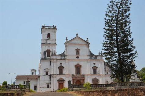 The old Goa church Source: Sandip Hor