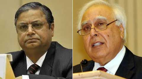 Subramanium wrote a letter to Sibal on July 21, 2011, a week after he resigned from the post of SG.