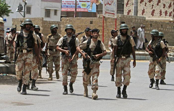 Taliban militants attack ASF hostel at Karachi airport complex