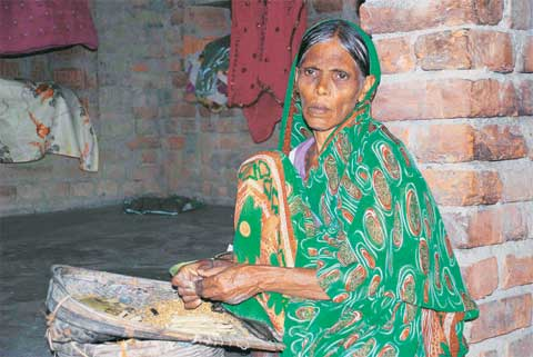 Haidar's mother Rehana Khatoon says she lost touch with him by 2011. (Express Photo by Manas Chaudhary)