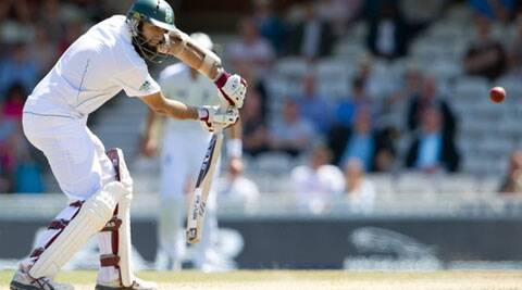 Hashim Amla is the first coloured South African to lead the cricket team (Source: AP)