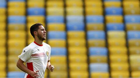Belgium's Eden Hazard is expected to be fully fit against Russia (Source: Reuters)