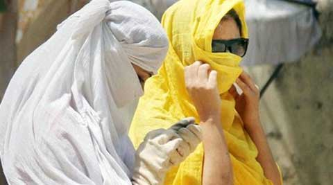 According to MeT department, humidity levels were recorded between 59 and 33 per cent during the day. (Source: PTI)