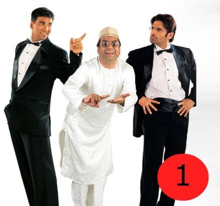 Indian Express online poll: Top 10 Hindi comedy films of all time
