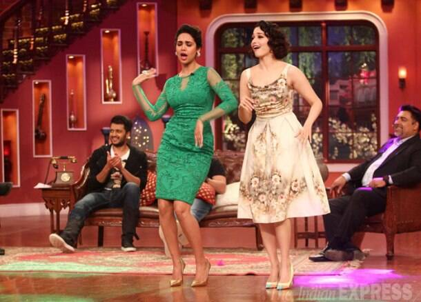 Humshakals Riteish, Saif Ali Khan, Ram Kapoor have some fun with Kapil, dadi