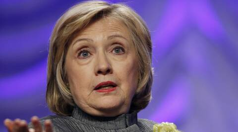 Hillary Rodham Clinton. (Source: AP)