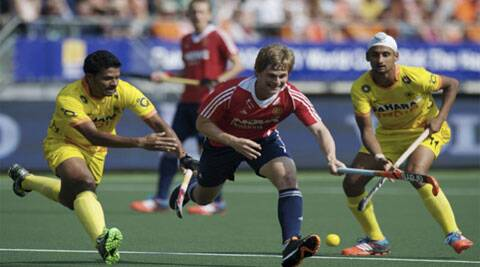 After being held to a 1-1 draw in their first game by Spain, England now have four points from two matches (Source: Hockey India)