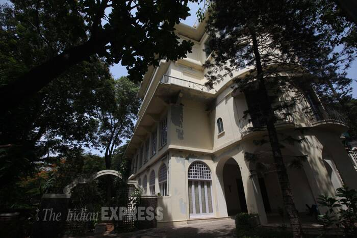 After Bhabha's death in a plane crash 1966, his brother Jamshed, a patron of art and culture, became the custodian of the estate. (Source: Express photo by Pradip Das)