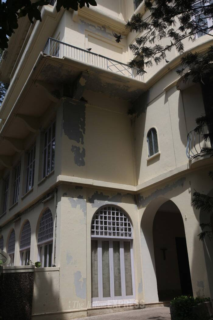On Jamshed's death in 2007, the property was transferred to NCPA, an institution he had nurtured. (Source: Express photo by Pradip Das)