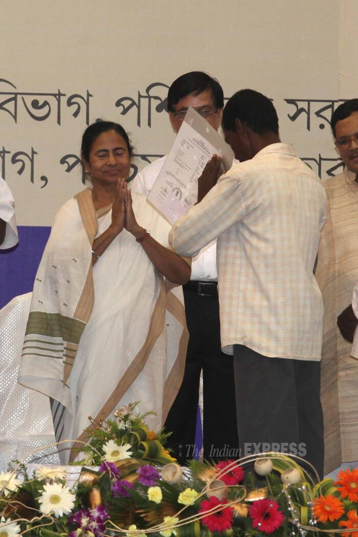 Mamata Banerjee at 'Hool Divas' celebrations