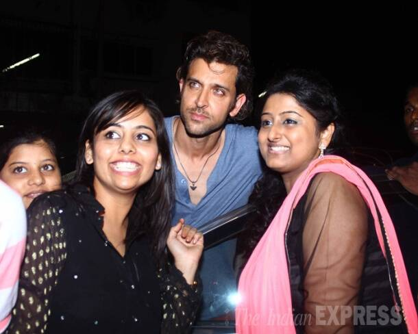 Hrithik Roshan's outing with family