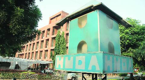 HUDA office in Panchkula.