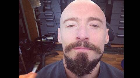 The 45-year-old actor debuted his brand-new look via Instagram.