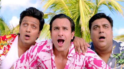 Director Sajid Khan's big comedy, 'Humshakals' finally hits screens today.