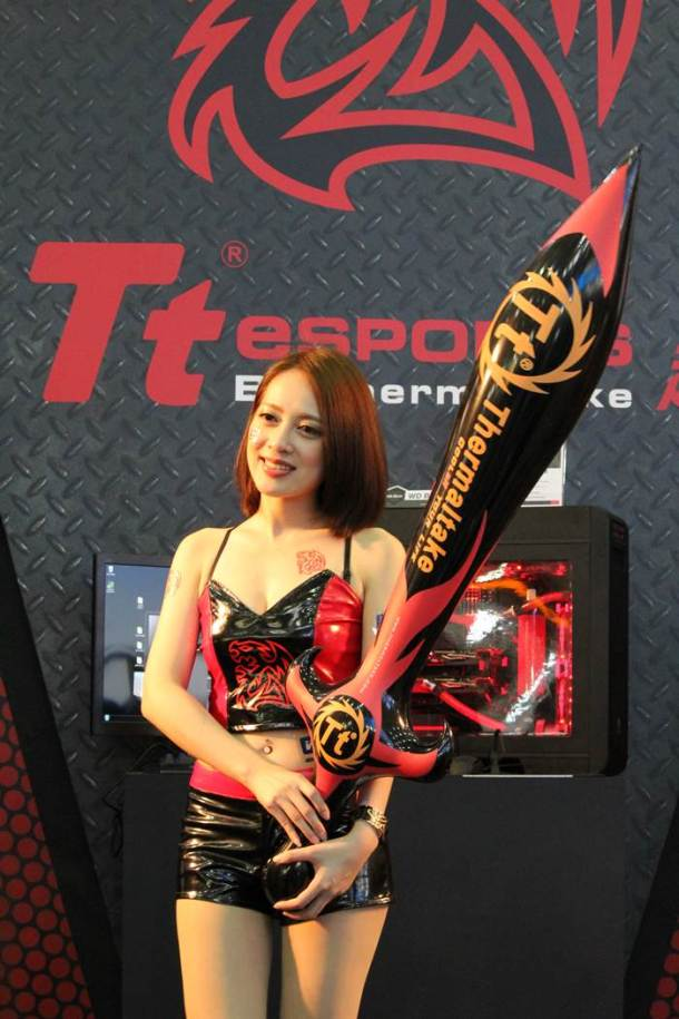 Computex is not just about gadgets and technology. It comes with a good dose of glamour too.
