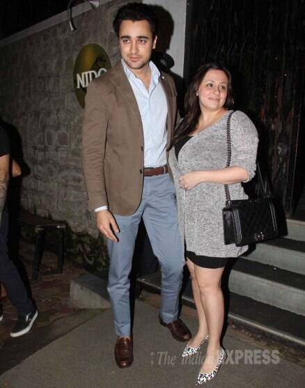 Off baby duty! new parents Imran, Avantika enjoy dinner