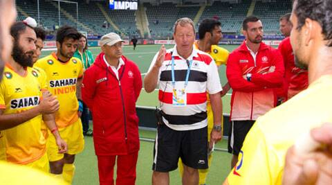 Indian team is scheduled to take part in three major events in 2-14 - CWG, Asian Games and the FIH Champions Trophy