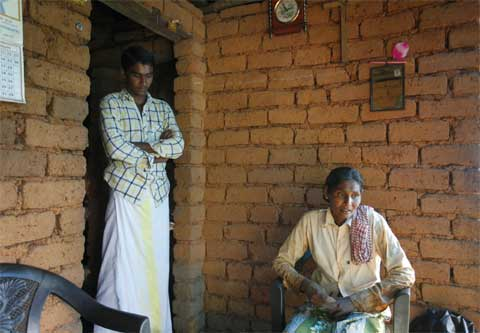 Teena's mother Lily and brother Tijo are both farm labourers.