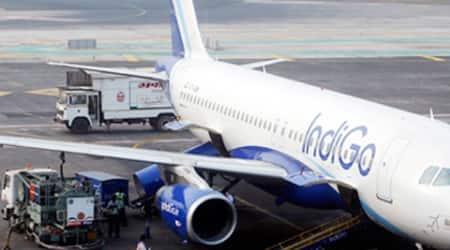 IndoGo, IndiGo flight, air-hostesses, Indigo air-hostesses, Kolkata-Mumbai Indigo flight, Kolkata-Mumbai Indigo flight 6E 326, Bangladeshi national, Bangladeshi national arrested, Man arrested in flight, man held in Indigo flight, misbehaving inside flight, india news