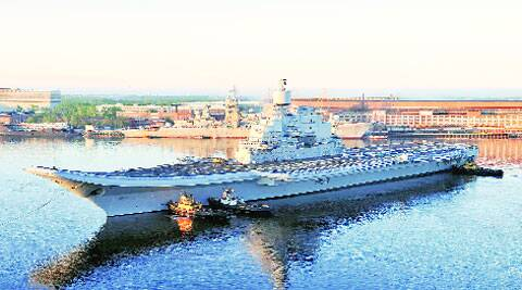 Modi will embark the INS Vikramaditya Saturday.(File photo)