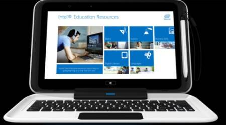 The Intel Education 2-in-1 has the flexibility and mobility of a tablet plus the performance and productivity of a laptop.