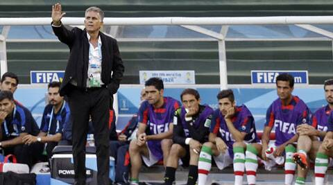 Iran coach Queiroz said his team had set out to win, with more challenging fixtures against Argentina and Bosnia to come (Source: AP)
