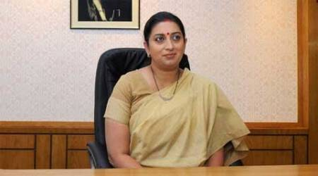 Union HRD minister Smriti Irani. (Source: PTI)