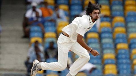Ishant's struggle continued as India's most experienced Test bowler in the squad couldn't get his run-up right. (Source: AP File)