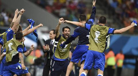 The Azzurri have to recover physically after a draining match in the jungle venue of Manaus and prepare to face a surprising Costa Rica side. (Source: AP)