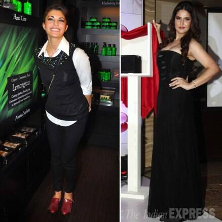 Salman Khan's onscreen girlfriends Jacqueline, Zarine have a busy day