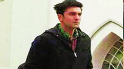Attired in a neat black jacket, Ranbir Kapoor  seems all set to play a detective