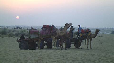 The Golden city of Rajasthan – Jaisalmer was spellbinding at its first sight. Source: Divya Goyal