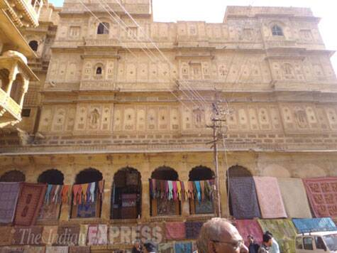One of the shops in Jaisalmer Fort Source: Divya Goyal